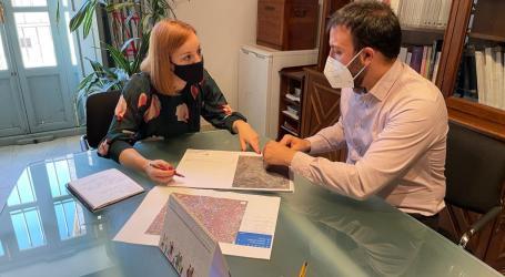 Dolors Gimeno se reúne con el concejal de Urbanismo de Godella para conocer los proyectos de movilidad de la localidad