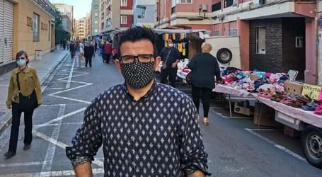 El PP de Mislata presenta una moción para ayudar a los vendedores del Mercado Ambulante