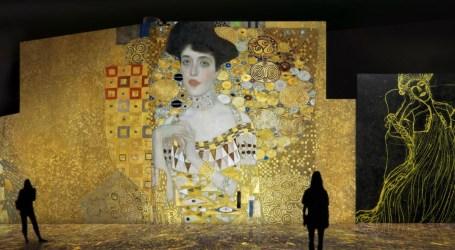 Klimt viste València de oro con la primera exposición inmersiva de producción española