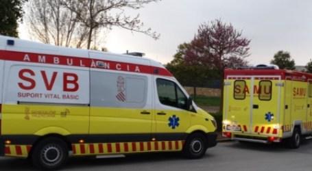 Un hombre sufre un accidente laboral en Quart de Poblet