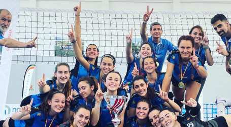El Club Voleibol Sedaví Sènior Femení ascendeix a Primera Nacional