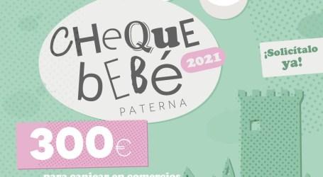 Paterna abre hoy la sexta convocatoria del Cheque Bebé