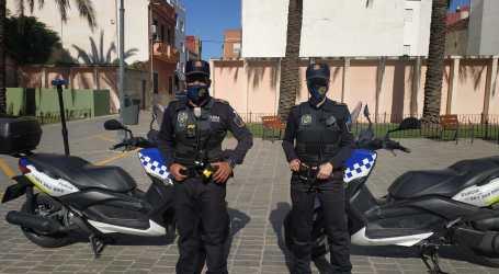 La Policia Local de Catarroja treballa en una campanya de conscienciació viària en el municipi