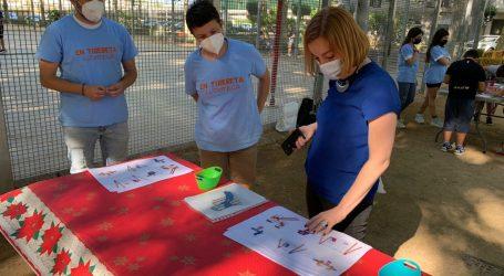 Catarroja pregunta a les xiquetes i xiquets del Barri del Xarco quin parc infantil volen en la plaça dels Furs