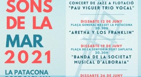 El Ayuntamiento de Alboraya presenta el festival «Sons de la Mar»
