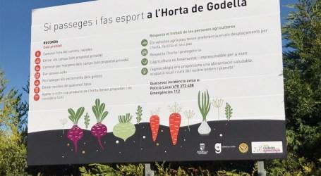 La policia local de Godella continua amb la seua campanya de control i vigilància de les persones que transiten per l'horta