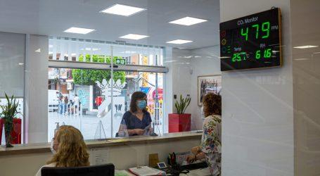 Mistala instala detectores de concentración de CO2 en los edificios públicos