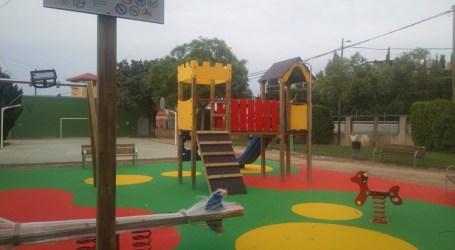 Meliana renova el parc infantil del Casó de Roca amb una inversió de 14.566,20 €