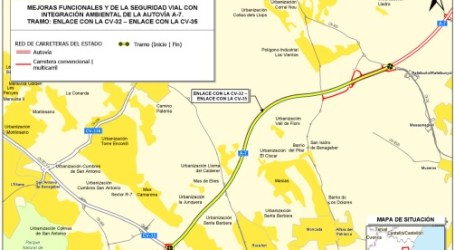 Ábalos anuncia la licitación de las obras de mejora del baipás de la A-7 en el entorno de Valencia