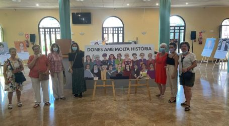 "La exposición ""Dones amb molta historia"" llega al Gran Teatro de Paterna"