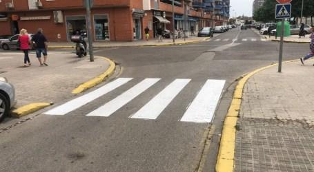Alaquàs realitza treballs de pintura i manteniment en diversos carrers del municipi