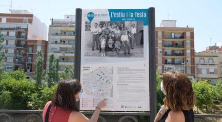 Paiporta acull una nova exposició en forma de panells distribuïts pels carrers sobre l'estiu i la Festa