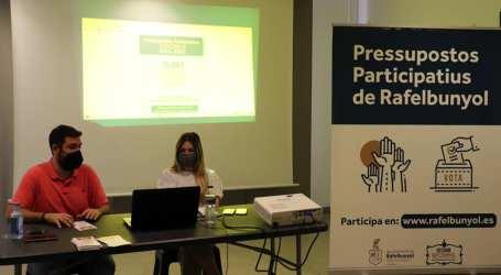 Els projectes de participació i transparència de l'Ajuntament de Rafelbunyol tornen a ser els millors valorats per la Diputació i Generalitat