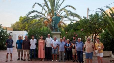 Visita del Ayuntamiento de Caudete de las Fuentes al observatorio de Albuixech