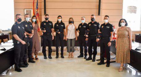 Alfafar incorpora seis agentes a la Policía Local