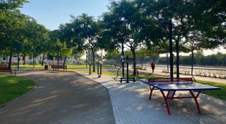 El nuevo parque del Vedat «A mitad camí» abre sus puertas hoy