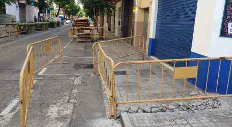 Benetússer inicia las obras de mejora y adecuación de la calle Marqués del Turia