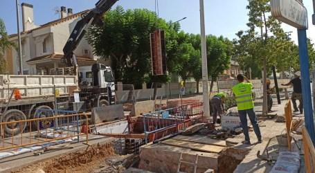 La Emshi instala en Paiporta una válvula de paso anular que controla con máxima precisión el caudal y la presión de agua en l'Horta Sud