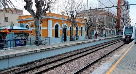 Muere la mujer arrollada por el metro en Massamagrell