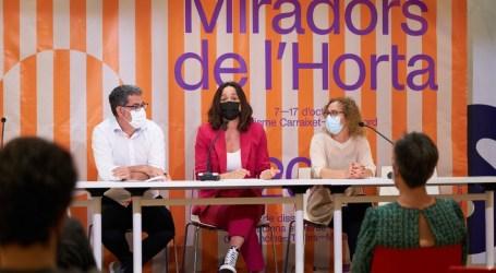 Turisme Carraixet celebra la II edición de Miradors de l'Horta con siete obras efímeras