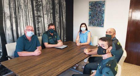 L'alcaldessa de Paiporta es reuneix amb el nou Tinent Comandant de la Guàrdia Civil