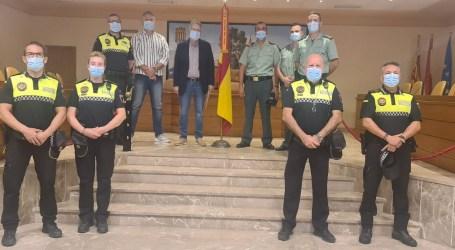 El Puesto de la Guardia Civil Alfafar-Catarroja impone su Corbata a Albal