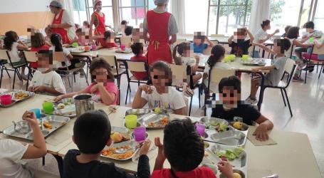 El CEIP Joan XXIII de Catarroja té un menjador més sostenible gràcies al programa 'La sostenibilitat al plat'