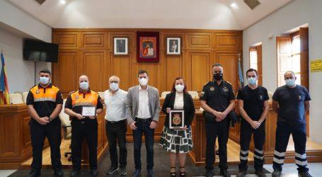 El Ayuntamiento de Burjassot y COGITI Valencia reconocen la labor de los voluntarios del proyecto «Juntos somos más fuertes CV» durante la pandemia