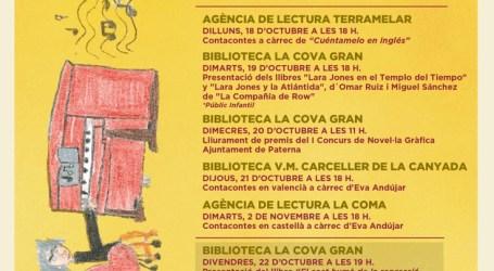 Paterna programa una semana de cuentacuentos y presentaciones de libros con motivo del Día Internacional de las Bibliotecas