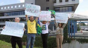 PROTESTA A FAVOR DE LULA