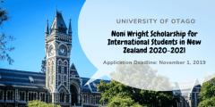 منحة جامعة أوتاجو لدراسة الماجستير والدكتوراه في نيوزلندا 2020-2021
