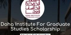 منحة معهد الدوحة للدراسات العليا في قطر 2020 (ممولة بالكامل)