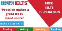 كورس التحضير لامتحان الأيلتس IELTS مجاناً مقدم من المجلس الثقافي البريطاني