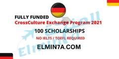 فرصة المشاركة في برنامج Cross Culture لتبادل الثقافات في ألمانيا 2021 (ممول بالكامل)