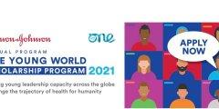 برنامج Johnson & Johnson وفرصة حضور قمة One Young World في ألمانيا (مملة بالكامل) 2021