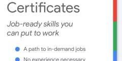 كورسات جوجل المجانية لأهم مجالات سوق العمل 2021 | هتغير حياتك ومستقبلك Google Career Certificates