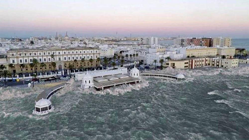 Tsunami en Cádiz