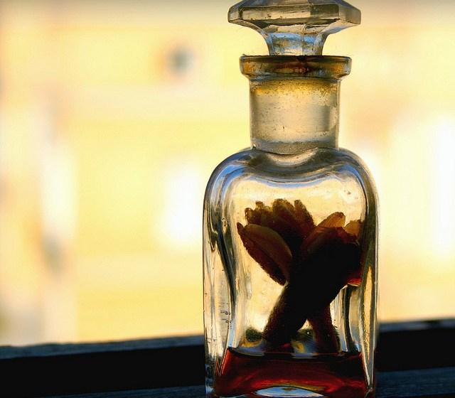 Las mejores esencias se guardan en frascos pequeños
