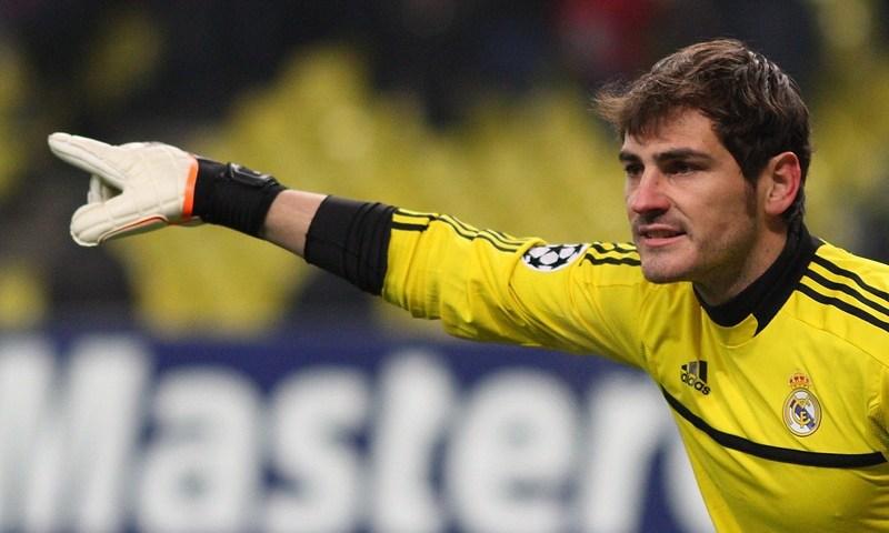 Iker Casillas es un artista