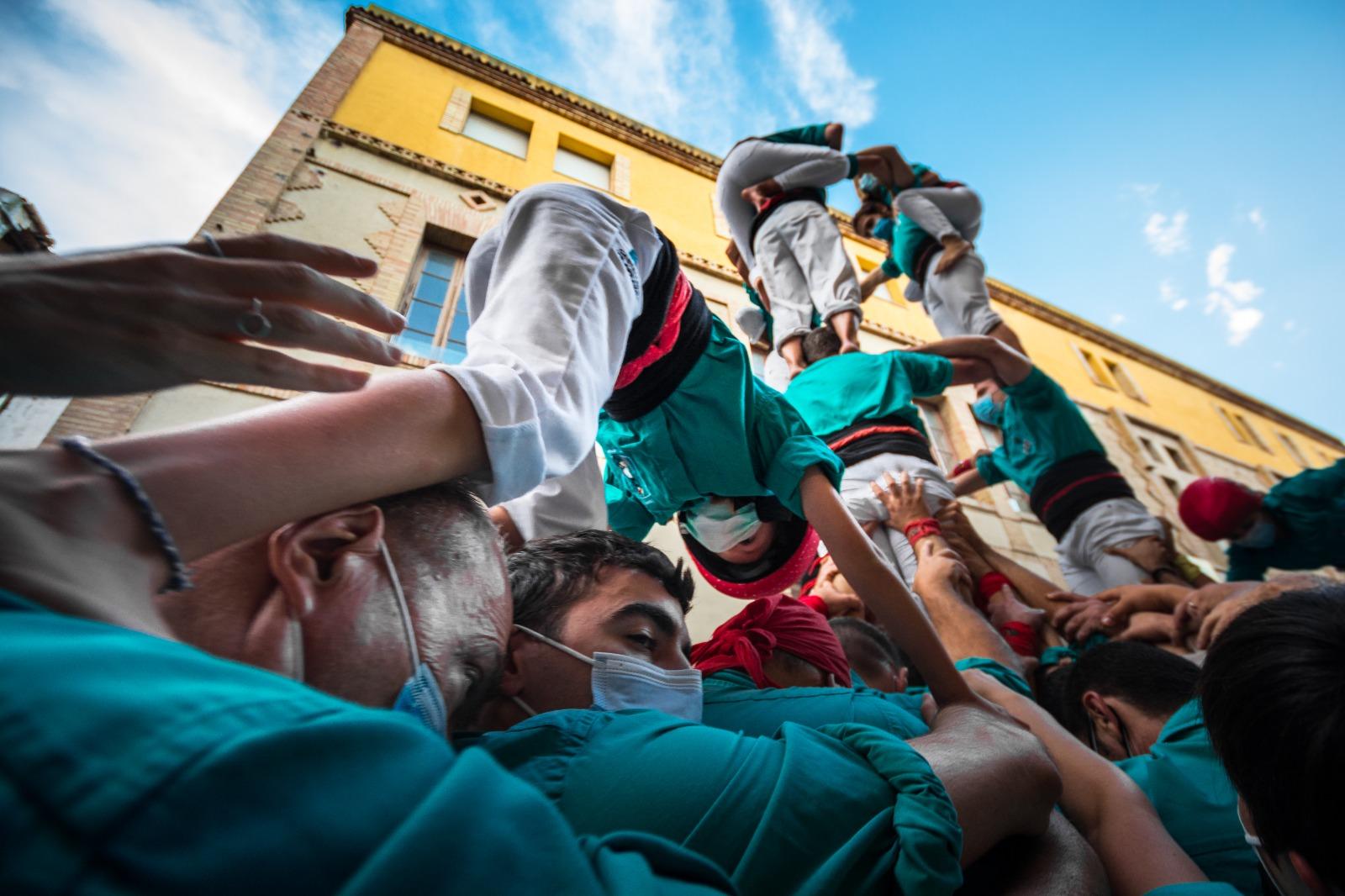 Fotos | La tornada a plaça dels Castellers de Vilafranca