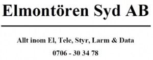Elmontören Syd AB Logotyp