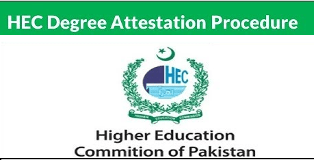 HEC Online Degree Attestation Procedure