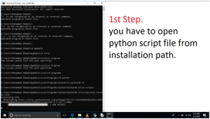 NLTK Installation in Python Step by Step Procedure. image 1