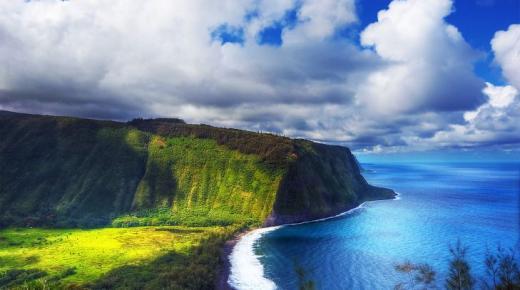 أكبر الجزر في هاواي