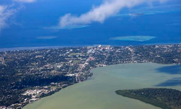 أكبر الجزر في تونغا