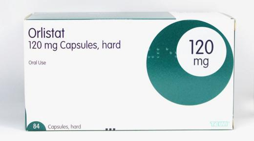 أقراص أورليستات Orlistat للتخلص من الوزن الزائد وحرق الدهون