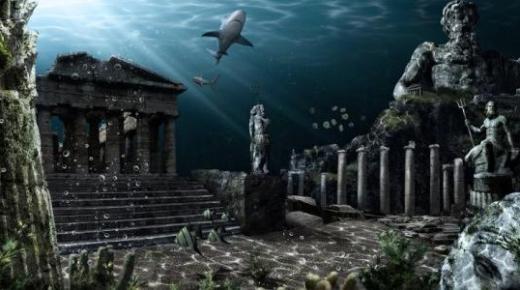 اسطورة اتلانتس الجزيرة المفقودة