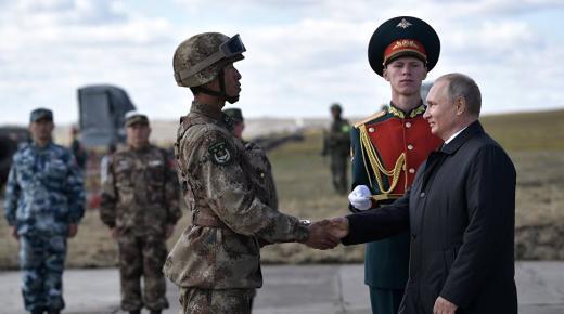 ترتيب الجيش الروسي 2020 على مستوى العالم