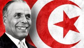 الرئيس التونسي الحبيب بورقيبة