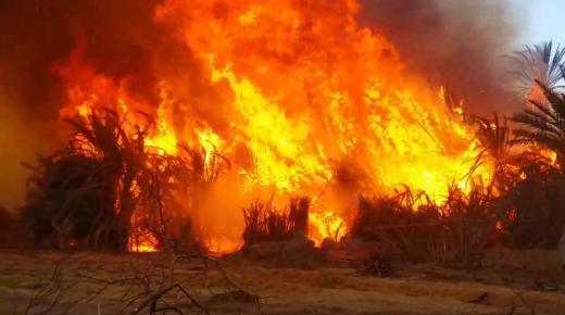 تفسير حلم رؤية الحريق في المنام